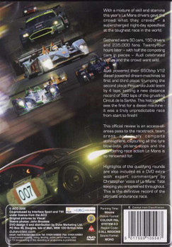 Le Mans 2006: The Official Review of The World's Greatest Endurance Race DVD