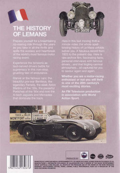 The History of Le Mans DVD