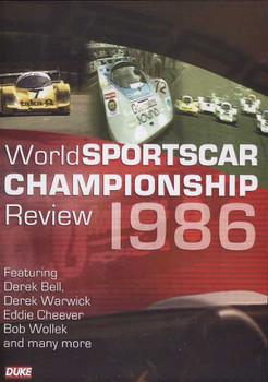 World Sportscar Championship Review 1986 DVD