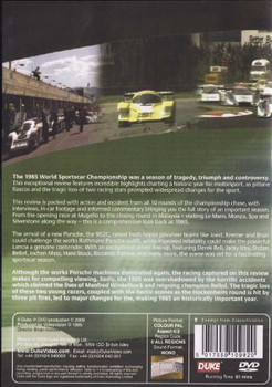 World Sportscar Championship Review 1985 DVD