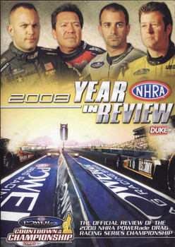 NHRA: 2008 Year In Review DVD