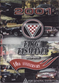 Targa Tasmania 1992 - 2001: 10th Anniversary DVD