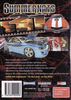 Summernats 21st: The Real Story (2 DVD Set)