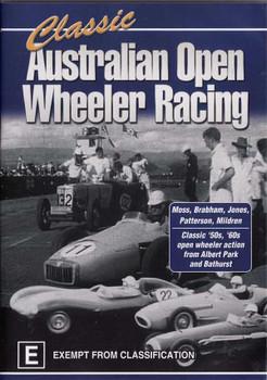 Classic Australian Open Wheeler Racing DVD