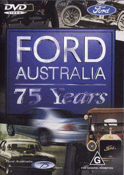 Ford Australia: 75 Years DVD