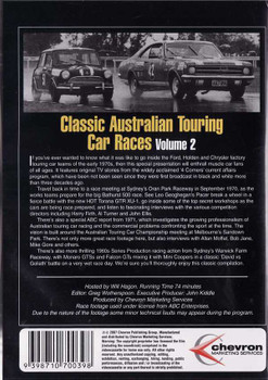 Classic Australian Touring Car Races Vol.2 DVD