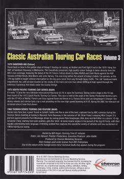 Classic Australian Touring Car Races Vol.3 DVD