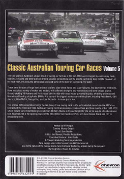 Classic Australian Touring Car Races Vol.5 DVD