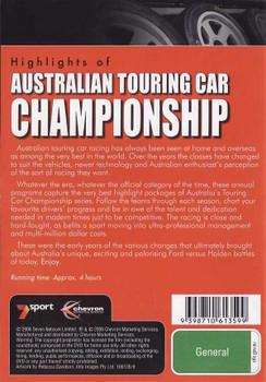 Highlights of Australian Touring Car Championship 1994 - 1996 DVD