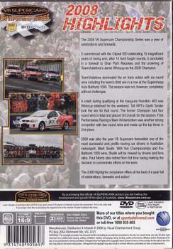 V8 Supercars Championship Series: 2008 Highlights DVD