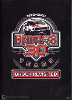 Brock78: 30 Years, Brock Revisited DVD