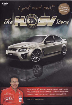 The Official HSV Story 1987 - 2007 DVD