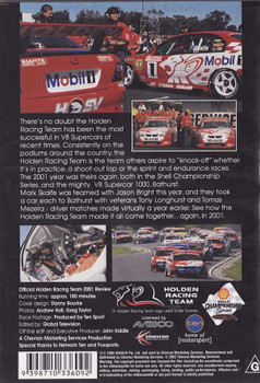 Official Holden Racing Team 2001 Review DVD