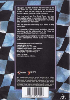 The Great Race: Mount Panorama Bathurst 1986 - 1992 DVD