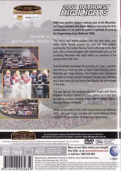 V8 Supercars Australia: Bathurst 2008 Highlights DVD