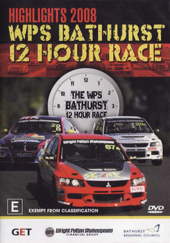 Highlights 2008 WSP Bathurst 12 Hour Race DVD
