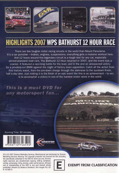 Highlights 2007 WSP Bathurst 12 Hour Race DVD