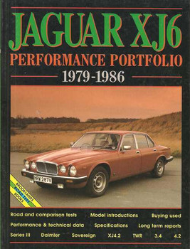 Jaguar XJ6 Performance Portfolio 1979 - 1986
