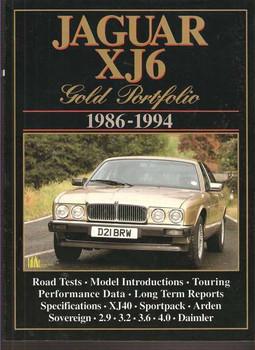 Jaguar XJ6 Gold Portfolio 1986 - 1994