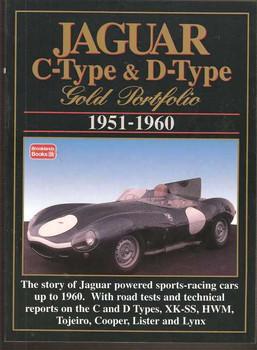Jaguar C-Type & D-Type Gold Portfolio 1951 - 1960