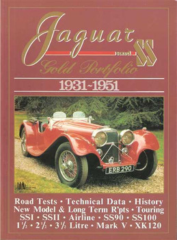 Jaguar and SS Gold Portfolio 1931 - 1951