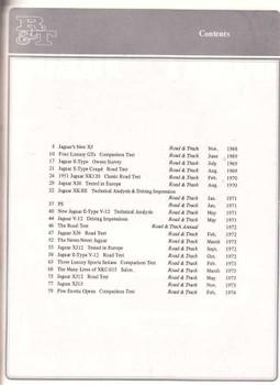Road & Track On Jaguar 1968 - 1974