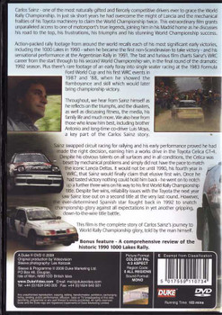 Carlos Sainz El Matador: The Early Years DVD