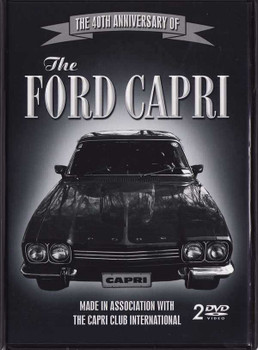 The 40th Anniversary of The Ford Capri (2 DVDs Set)