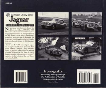 Jaguar XK120x KX140, XK150 Sports Cars