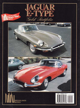 Jaguar E-Type 1961 - 1971 Gold Portfolio