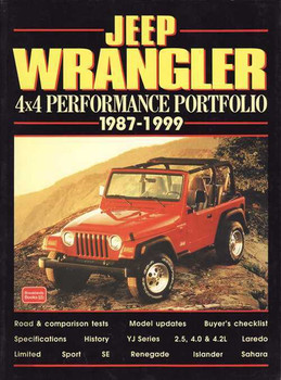 Jeep Wrangler 4x4 Performance Portfolio 1987 - 1999