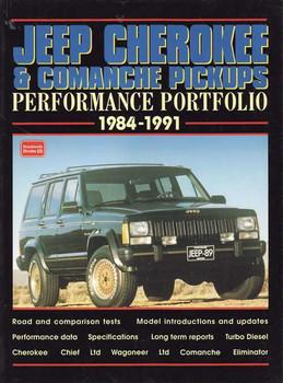 Jeep Cherokee & Comanche Pickups Performance Portfolio 1984 - 1991