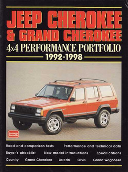 Jeep Cherokee & Grand Cherokee 4x4 Performance Portfolio 1992 - 1998