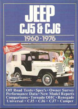 Jeep CJ5 & CJ6 1960 - 1976