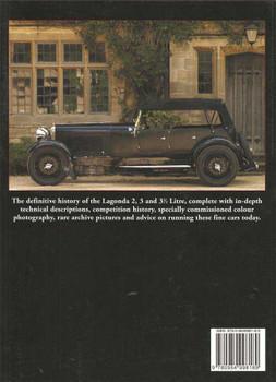 Lagonda 2, 3 & 3.5 Litre In Detail Including 16|80 1925- 1935