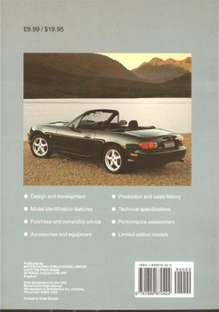 Mazda MX-5 and Miata 1989 - 1999