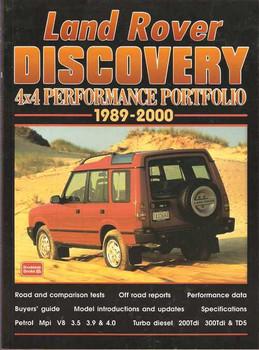 Land Rover Discovery 4x4 Performance Portfolio 1989 - 2000