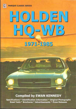 Holden HQ, HJ, HX, WB, 1971 - 1985
