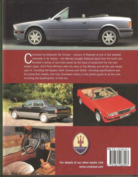 Maserati: The Road Cars 1981 - 1997