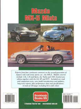 Mazda MX-5 Performance Portfolio 1998 - 2005
