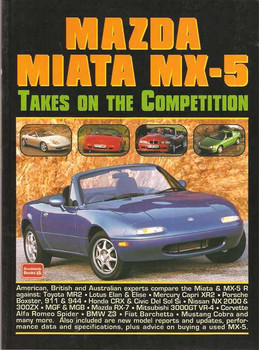 Mazda Miata MX-5 Takes On The Competition