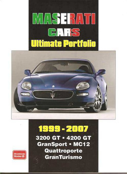 Maserati Cars Ultimate Portfolio 1999 - 2007