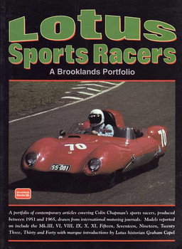 Lotus Sports Racers: A Brooklands Portfolio