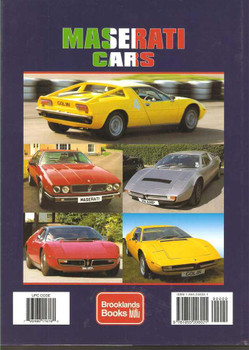 Maserati Cars: A Brooklands Portfolio  1957 - 1998