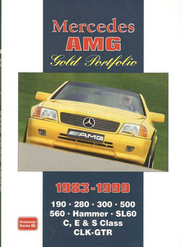 Mercedes AMG Gold Portfolio 1983 - 1999