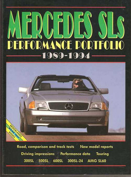 Mercedes SLs Performance Portfolio 1989 - 1994