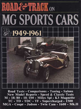 Road & Track On MG Sports Cars 1949 - 1961