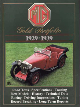 MG Gold Portfolio 1929 - 1939
