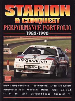 Mitsubishi Starion & Conquest Performance Portfolio 1982 - 1990
