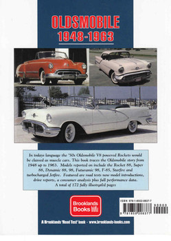 Oldsmobile 1948 - 1963 Limited Edition Premier  - back